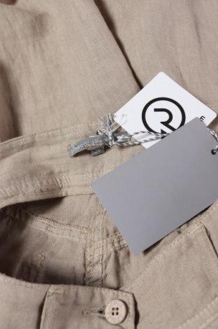 Дамски панталон Le Phare De La Baleine, Размер S, Цвят Бежов, Лен, Цена 48,00лв.
