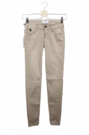 Γυναικείο παντελόνι Le Temps Des Cerises, Μέγεθος XXS, Χρώμα  Μπέζ, 74% βαμβάκι, 22% πολυεστέρας, 4% ελαστάνη, Τιμή 16,50€
