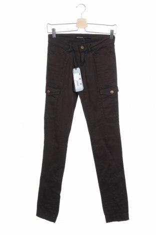 Дамски панталон Miss Sixty, Размер XS, Цвят Кафяв, 98% памук, 2% еластан, Цена 20,36лв.