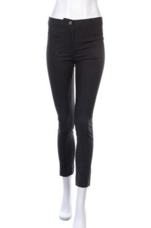 Дамски панталон Multiples, Размер M, Цвят Черен, 60% памук, 37% полиамид, 3% еластан, Цена 19,20лв.