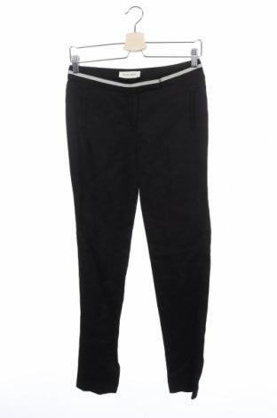 Дамски панталон Naf Naf, Размер XS, Цвят Черен, 70% лиосел, 30% лен, Цена 32,80лв.