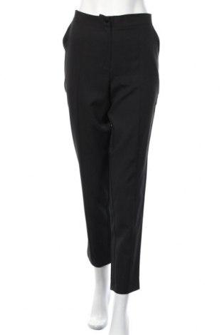 Γυναικείο παντελόνι Naoko, Μέγεθος L, Χρώμα Μαύρο, 60% πολυεστέρας, 40% βισκόζη, Τιμή 11,74€