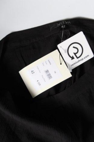 Дамски панталон Nitya, Размер L, Цвят Черен, Памук, Цена 15,80лв.