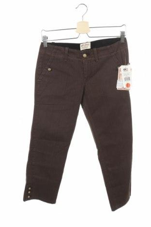 Дамски панталон Polo Jeans Company by Ralph Lauren, Размер S, Цвят Кафяв, Памук, Цена 9,08лв.