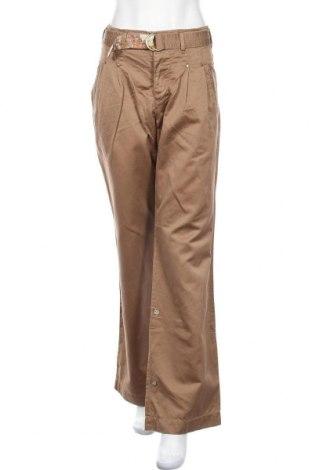 Дамски панталон Replay, Размер M, Цвят Кафяв, 79% памук, 21% лен, Цена 23,40лв.