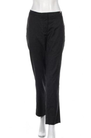 Дамски панталон Samsoe & Samsoe, Размер L, Цвят Сив, Памук, Цена 121,91лв.
