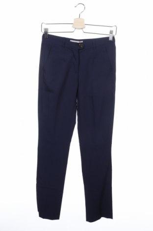 Дамски панталон Silvian Heach, Размер XS, Цвят Син, Полиестер, вискоза, еластан, Цена 19,08лв.