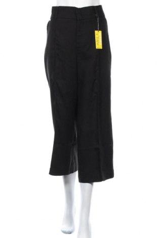 Дамски панталон Street One, Размер L, Цвят Черен, Лиосел, Цена 27,90лв.