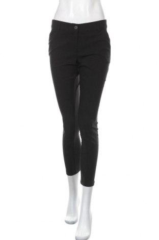 Γυναικείο παντελόνι TWINSET, Μέγεθος S, Χρώμα Μαύρο, 78% βισκόζη, 19% πολυαμίδη, 3% ελαστάνη, Τιμή 25,34€