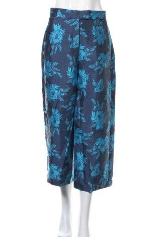 Γυναικείο παντελόνι TWINSET, Μέγεθος M, Χρώμα Μπλέ, 83% πολυεστέρας, 17% πολυαμίδη, Τιμή 24,36€