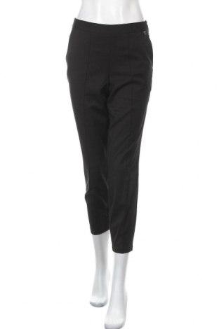Дамски панталон TWINSET, Размер M, Цвят Черен, 68% полиестер, 30% вискоза, 2% еластан, Цена 34,27лв.