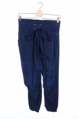 Дамски панталон TWINSET, Размер XS, Цвят Син, Коприна, Цена 67,05лв.