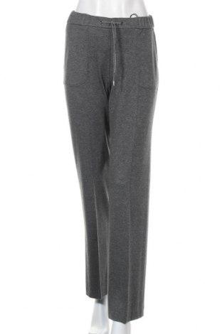 Дамски панталон Toni, Размер S, Цвят Сив, 67% полиестер, 32% вискоза, 1% еластан, Цена 22,08лв.
