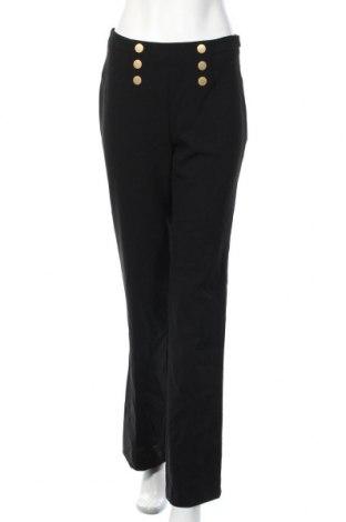 Γυναικείο παντελόνι Un Deux Trois, Μέγεθος XS, Χρώμα Μαύρο, 88% πολυεστέρας, 12% ελαστάνη, Τιμή 13,61€