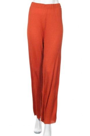 Дамски панталон Vila, Размер L, Цвят Червен, Полиестер, Цена 19,60лв.
