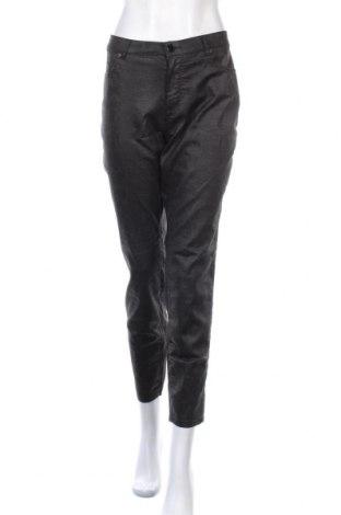 Дамски панталон Zapa, Размер XL, Цвят Черен, 69% памук, 29% полиестер, 2% еластан, Цена 68,70лв.