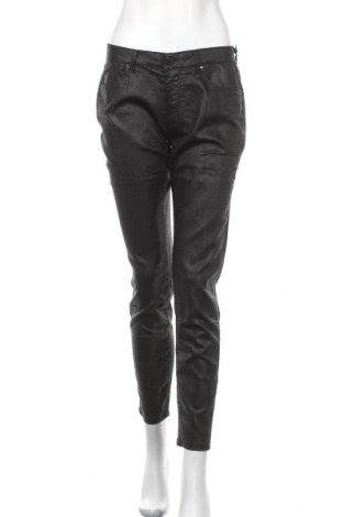 Дамски панталон Zapa, Размер M, Цвят Черен, 69% памук, 29% полиестер, 2% еластан, Цена 57,25лв.