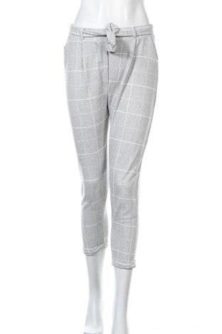 Дамски панталон Zibi London, Размер M, Цвят Сив, 50% вискоза, 45% полиестер, 5% еластан, Цена 19,32лв.