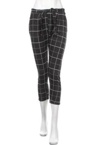 Дамски панталон Zibi London, Размер L, Цвят Черен, 50% вискоза, 45% полиестер, 5% еластан, Цена 19,32лв.