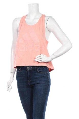 Γυναικείο αμάνικο μπλουζάκι Adidas, Μέγεθος XL, Χρώμα Ρόζ , Βαμβάκι, Τιμή 13,68€