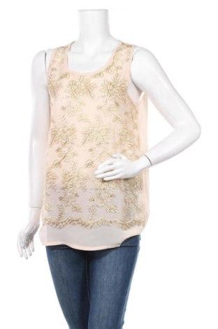 Γυναικείο αμάνικο μπλουζάκι Molly Bracken, Μέγεθος M, Χρώμα  Μπέζ, Πολυαμίδη, Τιμή 9,28€
