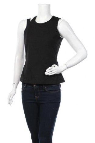 Γυναικείο αμάνικο μπλουζάκι On.You, Μέγεθος M, Χρώμα Μαύρο, 70% βισκόζη, 26% πολυεστέρας, 4% ελαστάνη, Τιμή 16,29€