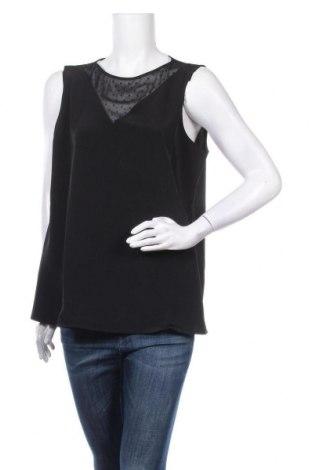 Γυναικείο αμάνικο μπλουζάκι Tom Tailor, Μέγεθος XXL, Χρώμα Μαύρο, Πολυεστέρας, Τιμή 9,60€