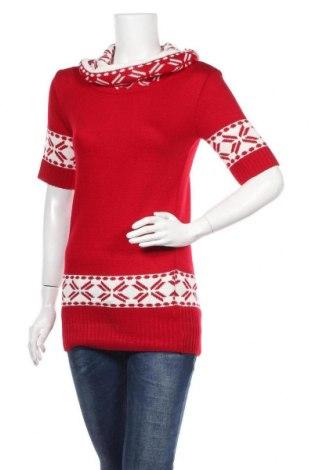 Γυναικείο πουλόβερ, Μέγεθος S, Χρώμα Κόκκινο, Πολυακρυλικό, Τιμή 6,59€