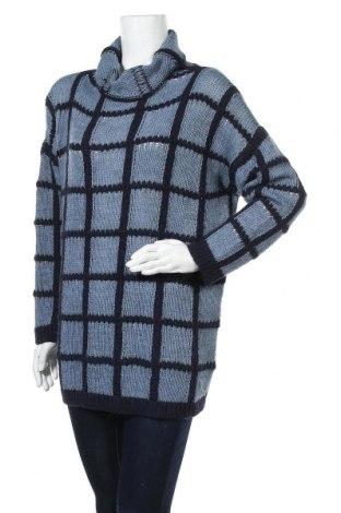 Γυναικείο πουλόβερ, Μέγεθος XL, Χρώμα Μπλέ, 50% πολυακρυλικό, 40% άλλα υλικά, 10% μαλλί, Τιμή 14,19€