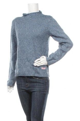Γυναικείο πουλόβερ, Μέγεθος M, Χρώμα Μπλέ, Ακρυλικό, Τιμή 14,19€