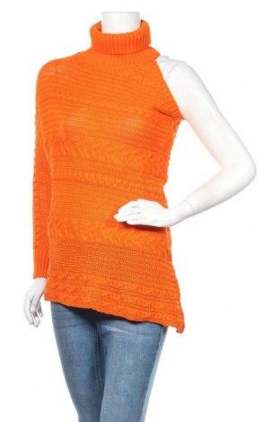 Γυναικείο πουλόβερ, Μέγεθος L, Χρώμα Πορτοκαλί, 70%ακρυλικό, 30% μαλλί, Τιμή 18,95€