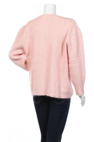 Γυναικείο πουλόβερ, Μέγεθος M, Χρώμα Ρόζ , 75%ακρυλικό, 17% πολυεστέρας, 9% ελαστάνη, Τιμή 16,24€