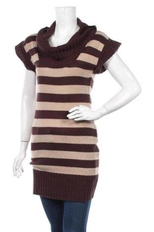 Γυναικείο πουλόβερ Ambiance Apparel, Μέγεθος M, Χρώμα Καφέ, 100%ακρυλικό, Τιμή 6,14€