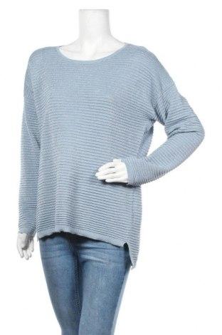 Γυναικείο πουλόβερ Ambria, Μέγεθος XL, Χρώμα Μπλέ, 38% βαμβάκι, 38% πολυακρυλικό, 16% πολυεστέρας, 8% μεταλλικά νήματα, Τιμή 16,05€