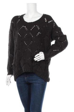 Γυναικείο πουλόβερ American Vintage, Μέγεθος L, Χρώμα Μαύρο, Τιμή 30,23€