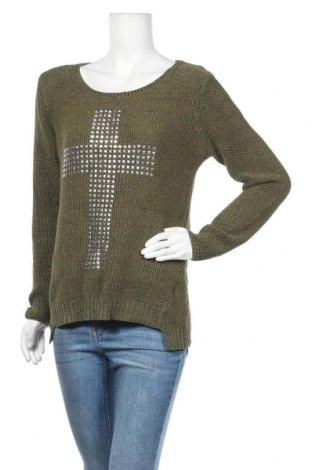 Γυναικείο πουλόβερ B.Young, Μέγεθος M, Χρώμα Πράσινο, Τιμή 5,46€