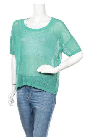 Дамски пуловер Balsamik, Размер M, Цвят Зелен, 100% вискоза, Цена 13,50лв.