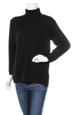 Γυναικείο πουλόβερ Canda, Μέγεθος S, Χρώμα Μαύρο, Ακρυλικό, Τιμή 6,37€