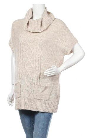 Γυναικείο πουλόβερ Canda, Μέγεθος XL, Χρώμα  Μπέζ, Τιμή 17,90€