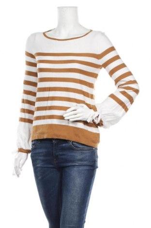 Дамски пуловер Caroll, Размер S, Цвят Бял, 51% памук, 49% акрил, Цена 29,67лв.