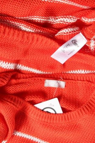 Γυναικείο πουλόβερ Cheer, Μέγεθος M, Χρώμα Πορτοκαλί, 94% πολυακρυλικό, 6% βαμβάκι, Τιμή 20,10€