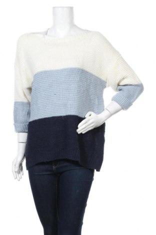 Γυναικείο πουλόβερ Floyd By Smith, Μέγεθος L, Χρώμα Μπλέ, 74%ακρυλικό, 26% πολυεστέρας, Τιμή 10,91€