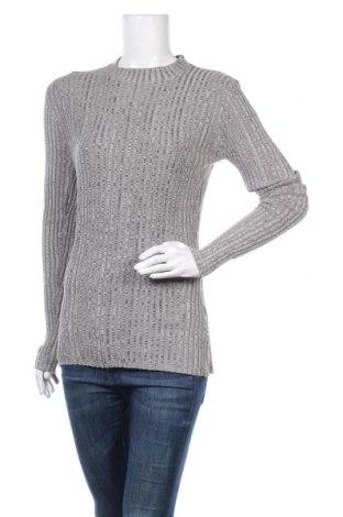 Дамски пуловер Free Quent, Размер L, Цвят Сив, 50% вискоза, 30% памук, 20% еластан, Цена 15,70лв.