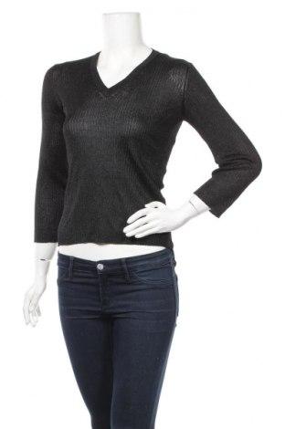 Γυναικείο πουλόβερ Globus Essentials, Μέγεθος S, Χρώμα Μαύρο, 86% ασετάτ, 8% πολυεστέρας, 6% πολυαμίδη, Τιμή 5,68€
