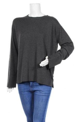 Γυναικείο πουλόβερ H&M Conscious Collection, Μέγεθος L, Χρώμα Γκρί, 65% πολυεστέρας, 20% πολυαμίδη, 15% μαλλί, Τιμή 18,09€