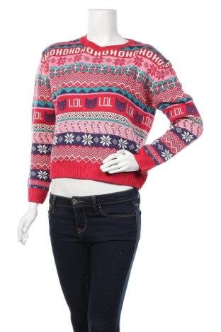 Γυναικείο πουλόβερ H&M Divided, Μέγεθος S, Χρώμα Πολύχρωμο, Ακρυλικό, Τιμή 16,05€