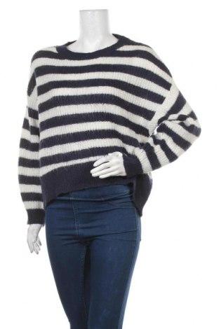 Γυναικείο πουλόβερ H&M L.O.G.G., Μέγεθος S, Χρώμα Μπλέ, 55%ακρυλικό, 30% πολυαμίδη, 15% μοχαίρ, Τιμή 16,66€