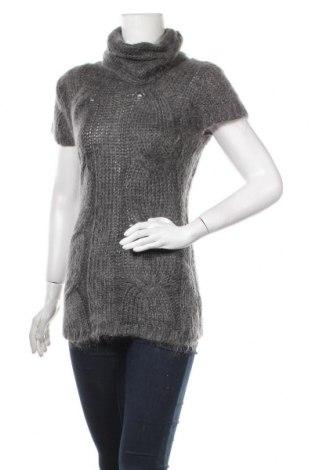 Γυναικείο πουλόβερ Hallhuber, Μέγεθος S, Χρώμα Γκρί, 53% πολυακρυλικό, 36% μοχαίρ, 11% πολυεστέρας, Τιμή 9,78€