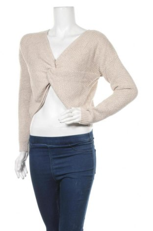 Γυναικείο πουλόβερ Hollister, Μέγεθος S, Χρώμα  Μπέζ, 60% βαμβάκι, 20% πολυαμίδη, 20% βισκόζη, Τιμή 20,10€
