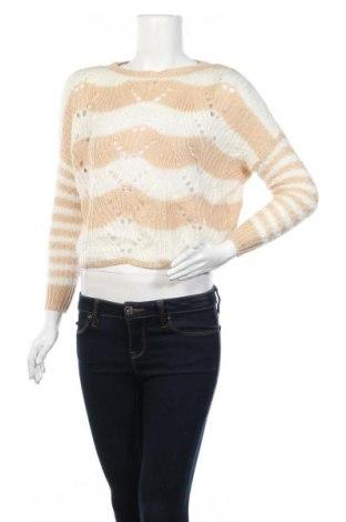 Дамски пуловер Jessica Simpson, Размер XXS, Цвят Бежов, Акрил, Цена 5,88лв.